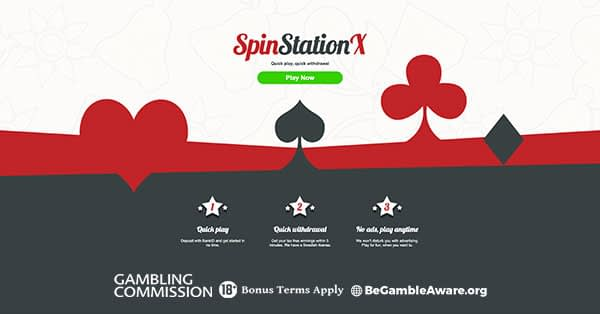 SpinStationX Casino Pay n play