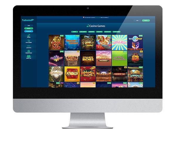 Turbonino Casino desktop