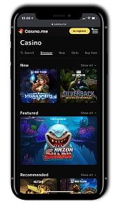Casino.me Mobile