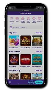 Wildz Casino mobile play