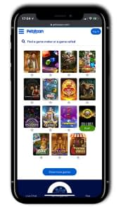 Pelataan Casino Mobile games