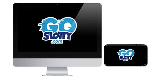 GoSlotty Logo on Screen