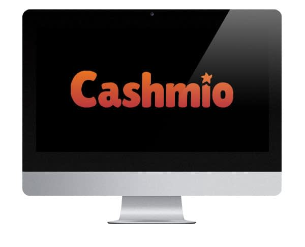 Cashmio Casino logo on screen