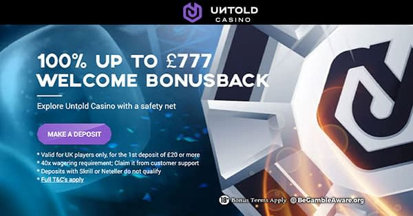 Untold Casino Pay N Play
