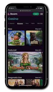 Boom Casino mobile