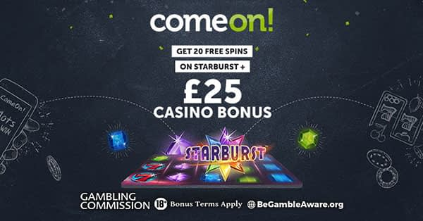 Comeon Casino: No Registration with Trustly Pay'N Play 4