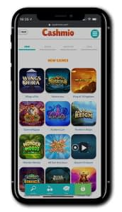 Cashmio Casino mobile