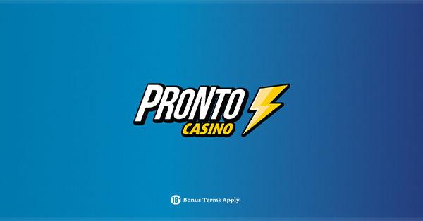 Pronto Casino banner